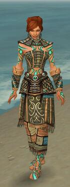 Monk Elite Luxon Armor F gray front