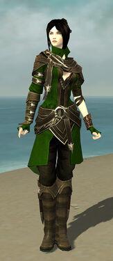 Shining Blade Uniform F body front