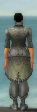 Elementalist Kurzick Armor M gray chest feet back