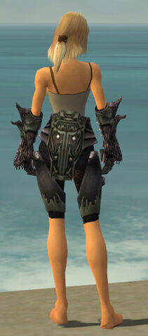 File:Warrior Primeval Armor F gray arms legs back.jpg