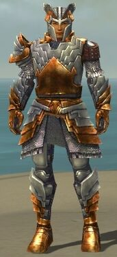 Warrior Templar Armor M dyed front