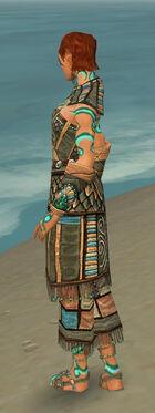 Monk Elite Luxon Armor F gray side
