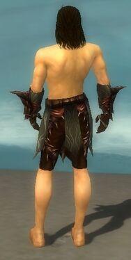 Ranger Primeval Armor M gray arms legs back