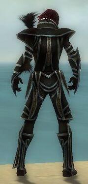 Necromancer Elite Sunspear Armor M dyed back