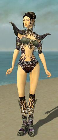 File:Ritualist Obsidian Armor F gray chest feet front.jpg