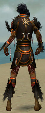 Necromancer Sunspear Armor M dyed back