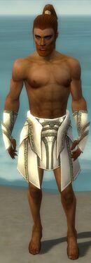 Paragon Asuran Armor M gray arms legs front