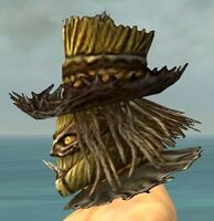 Scarecrow Mask gray side