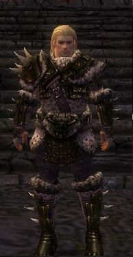 Warrior Elite Charr Hide Armor M nohelmet