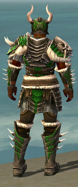 Warrior Norn Armor M dyed back