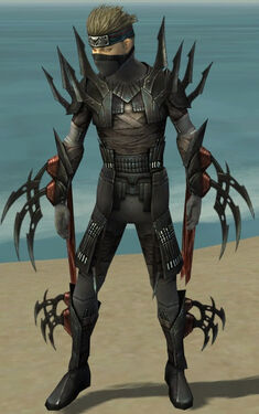 Assassin Ancient Armor M gray front