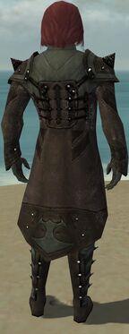 Mesmer Obsidian Armor M gray back
