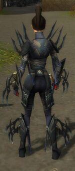 Zenmai Mysterious Armor F gray back