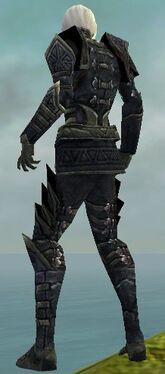 Necromancer Elite Cultist Armor M gray back