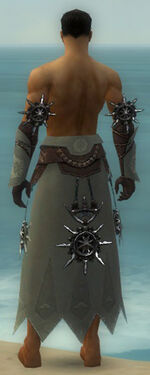 Dervish Elite Sunspear Armor M gray arms legs back