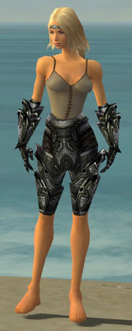 File:Warrior Obsidian Armor F gray arms legs front.jpg