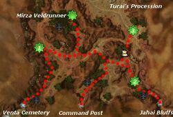 Ancestral Anguish map