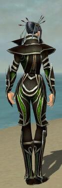 Necromancer Elite Sunspear Armor F dyed back