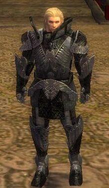 Warrior Elite Platemail Armor M nohelmet