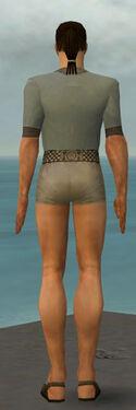 Dervish Elonian Armor M gray chest feet back