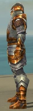 Warrior Templar Armor M dyed side alternate
