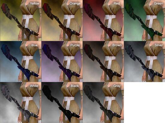 Darksteel Longbow Dye Chart