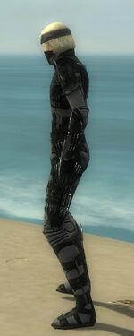 Assassin Kurzick Armor M gray side