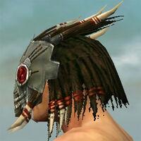 Dread Mask M gray side