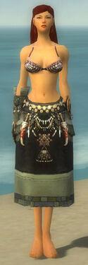 Ritualist Luxon Armor F gray arms legs front