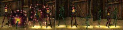 Female Assassin Dance - Shadows