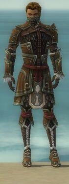 Ranger Elite Canthan Armor M gray front