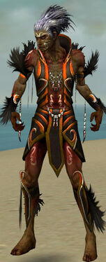 Necromancer Sunspear Armor M dyed front