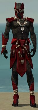 Ritualist Kurzick Armor M dyed front