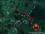 Arius Dark Apostle map location