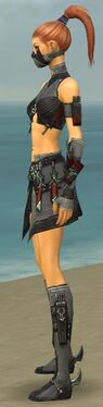 Assassin Elite Canthan Armor F gray side
