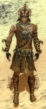 Razah Ancient armor front