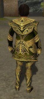 Norgu Primeval Armor Back