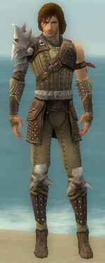 Ranger Studded Leather Armor M gray front