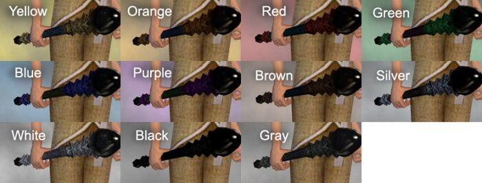 Onyx Scepter Dye Chart