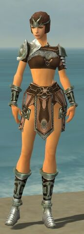 File:Warrior Gladiator Armor F gray front.jpg