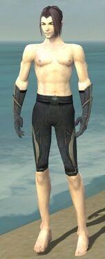 Elementalist Ascalon Armor M gray arms legs front