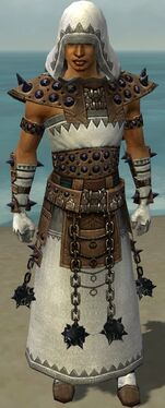 Dervish Obsidian Armor M dyed front