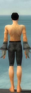 Elementalist Kurzick Armor M gray arms legs back