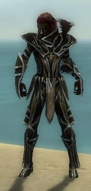 Necromancer Elite Sunspear Armor M dyed front
