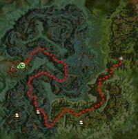 Route Zinn Lair