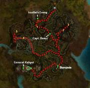 Blacktide Den mission map 2