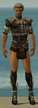 Ritualist Elite Luxon Armor M gray chest feet front
