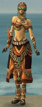 Ritualist Elite Luxon Armor F dyed front