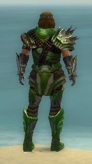 Warrior Deldrimor Armor M dyed back