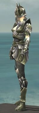Warrior Templar Armor F gray side